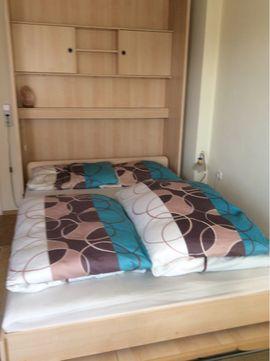 Betten - Schrankbett Wandbett 140 x 200