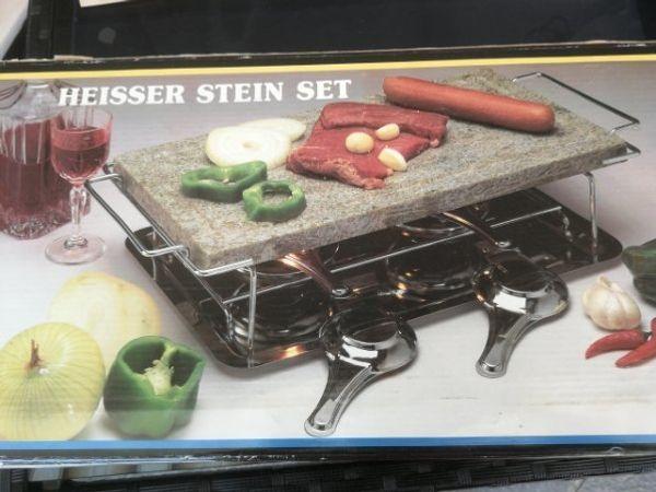 Heisser Stein NEU OVP Grillstein