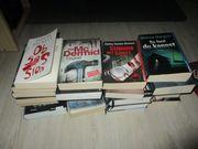 Verkaufe Krimi - Thriller Bücher Paket -