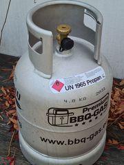 Neue Alu Gasflasche 7kg leer