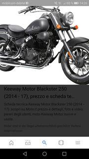Keeway blackstar 250