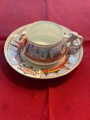 Vintage Russia Lomonosov Tea Cup
