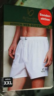HERREN-WEB-BOXERSHORT POLO CLUB Royal County
