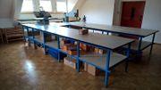 Arbeits-Atelier-Werk-Tische Längen 2 5 2