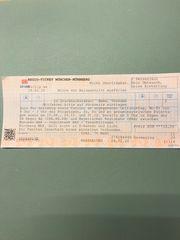 Zugticket München-Nürnberg 2 Personen für