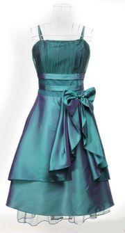 Abendkleid Tanzkleid festlich Bolero grün