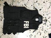 FBI-Weste Einheitsgröße Kinder