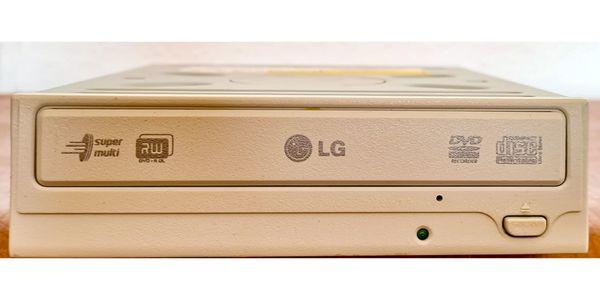 Der DVD-Brenner GSA-4167B von LG