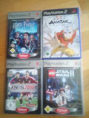 4 Spiele für Play Station