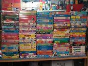 Ca 100 VHS Disney Klassiker