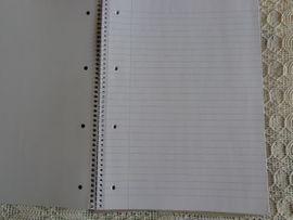 Büromaterial - Ringbuchblock 3 Stück NEU je
