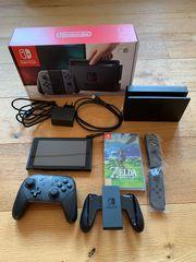 Nintendo Switch Zelda BOTW Pro