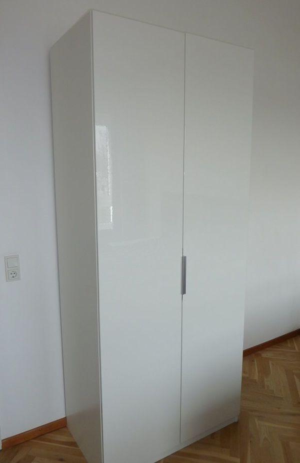 Pax-Schrank, 2-türig weiß, günstig abzugeben in Mainz - Schränke ...