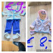 Baby born Kleiderset s und