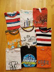 T-Shirts 9 Stück 122 128