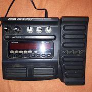 ZOOM GFX-707 Multieffektgerät für E-Gitarren