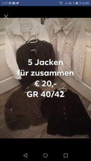 5 Jacken Blazer im Paket
