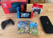 Nintendo Switch 19 Jeux Manette