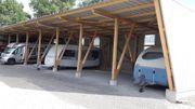 Abstellplatz für Wohnmobile
