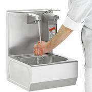 Elektrisches Waschbecken aus Edelstahl
