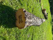 Holzstamm Apfelbaum