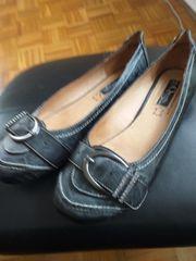 Neue Echt Leder Schuh
