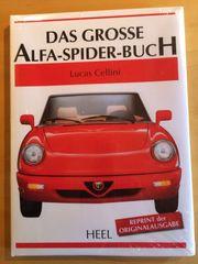 Alfa-Spider Buch 200 Seiten ca