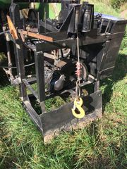 3 Punkt Seilwinde Traktor