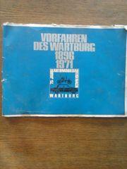 Album VORFAHREN DES WARTBURG 1896-1971