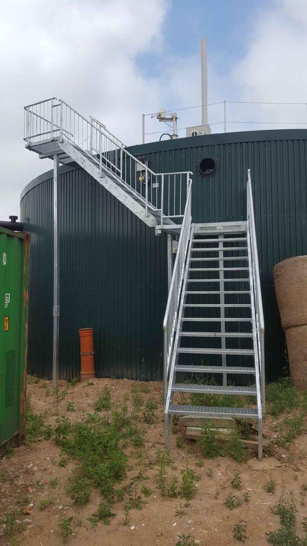 Metalltreppen aus Polen Stahltreppen Zaune