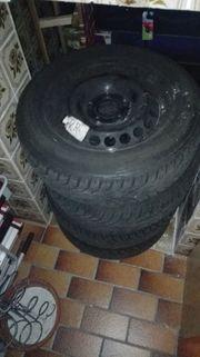 4 Stück Continental Winter-Reifen 185