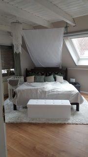 Wunderschönes Holzbett zu verkaufen