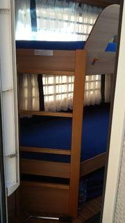 Zwei Wohnwagen Matratzen Stockbett Knauss
