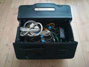 Kabel-Koffer- - -diverse Kabel-