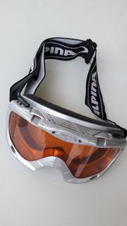 Neuwertige Kinder-Skibrille Alpina
