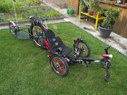 Dreirad Liegerad Trike