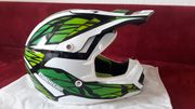 Neuer Moped-Cross Helm
