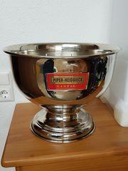 Champagner Kühler Magnum-Cup Pokal PIPER-HEIDSIECK