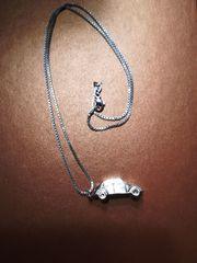 Silberkette mit Silberanhänger VW-Käfer Silberschmuck