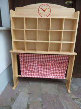 Holzspielzeug - Kaufladen aus massiv Buche neuwertig