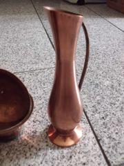Kleine Kupfer Vase 21 cm