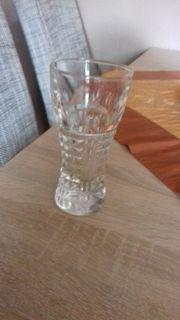 kleine Vase Glas Höhe 13
