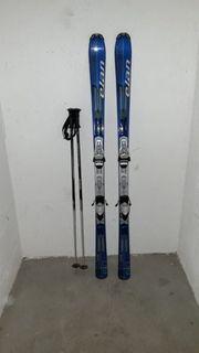 ELAN Ski mit Stöcken