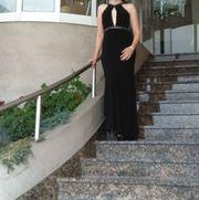Abendkleid schwarz lang Größe 40