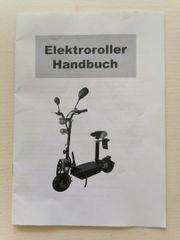 E-Roller zu verkaufen