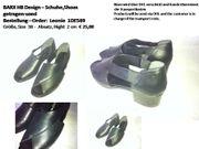 Schuh schwarze Sandalette