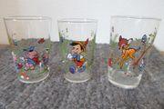 Walt Disney Gläser