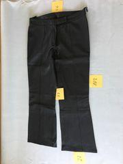 Lederhose Echtleder Größe 46 Schwarz