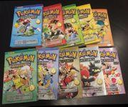 Pokemon Adventures Manga 1-10 englisch