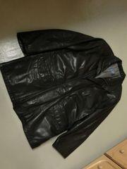 Herren-Leder-Jacke von Bugatti
